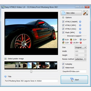 embedding video to website