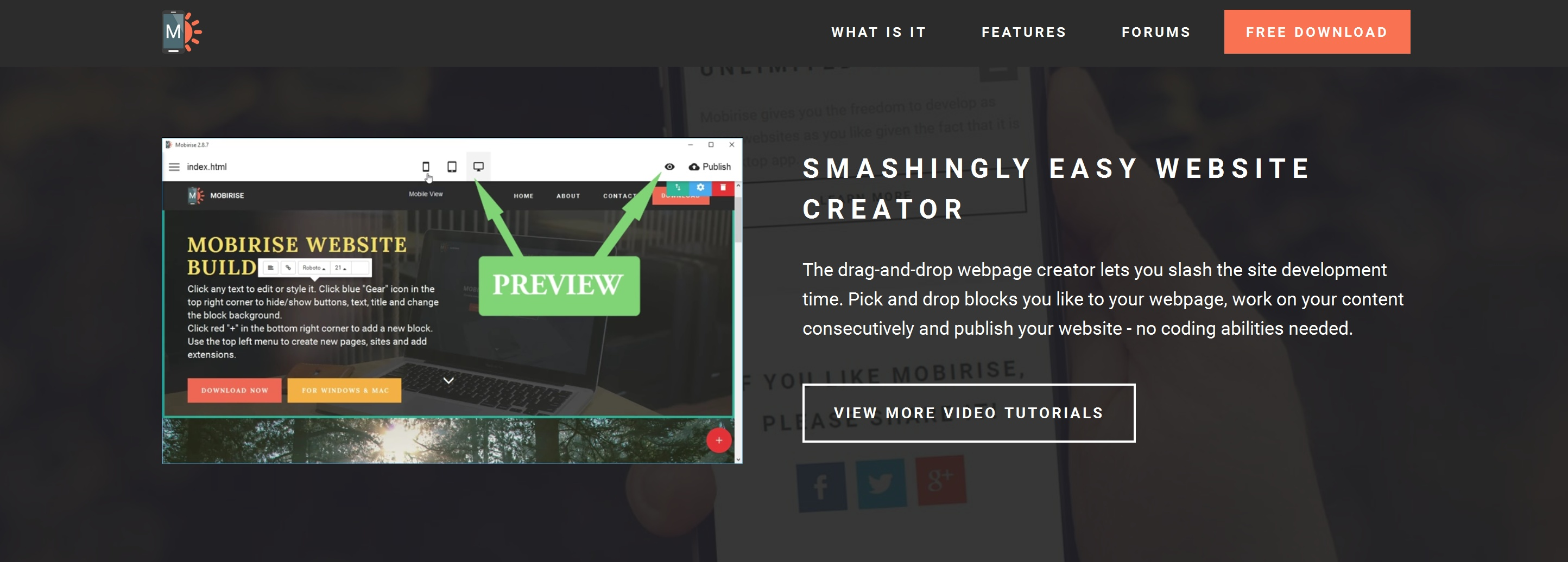 Quick Bootstrap Web Page  Builder