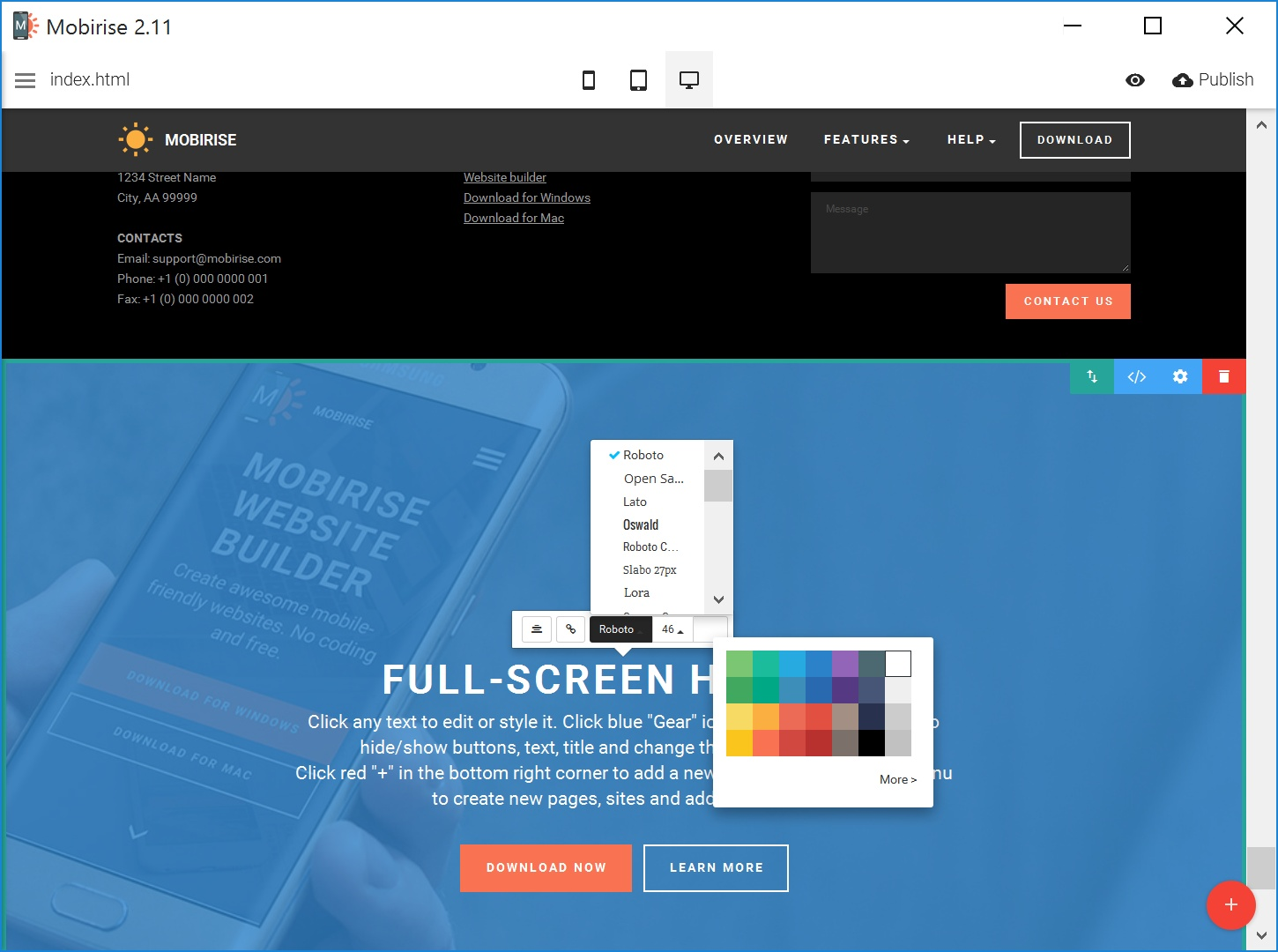 Best HTML Web Page  Creator Software