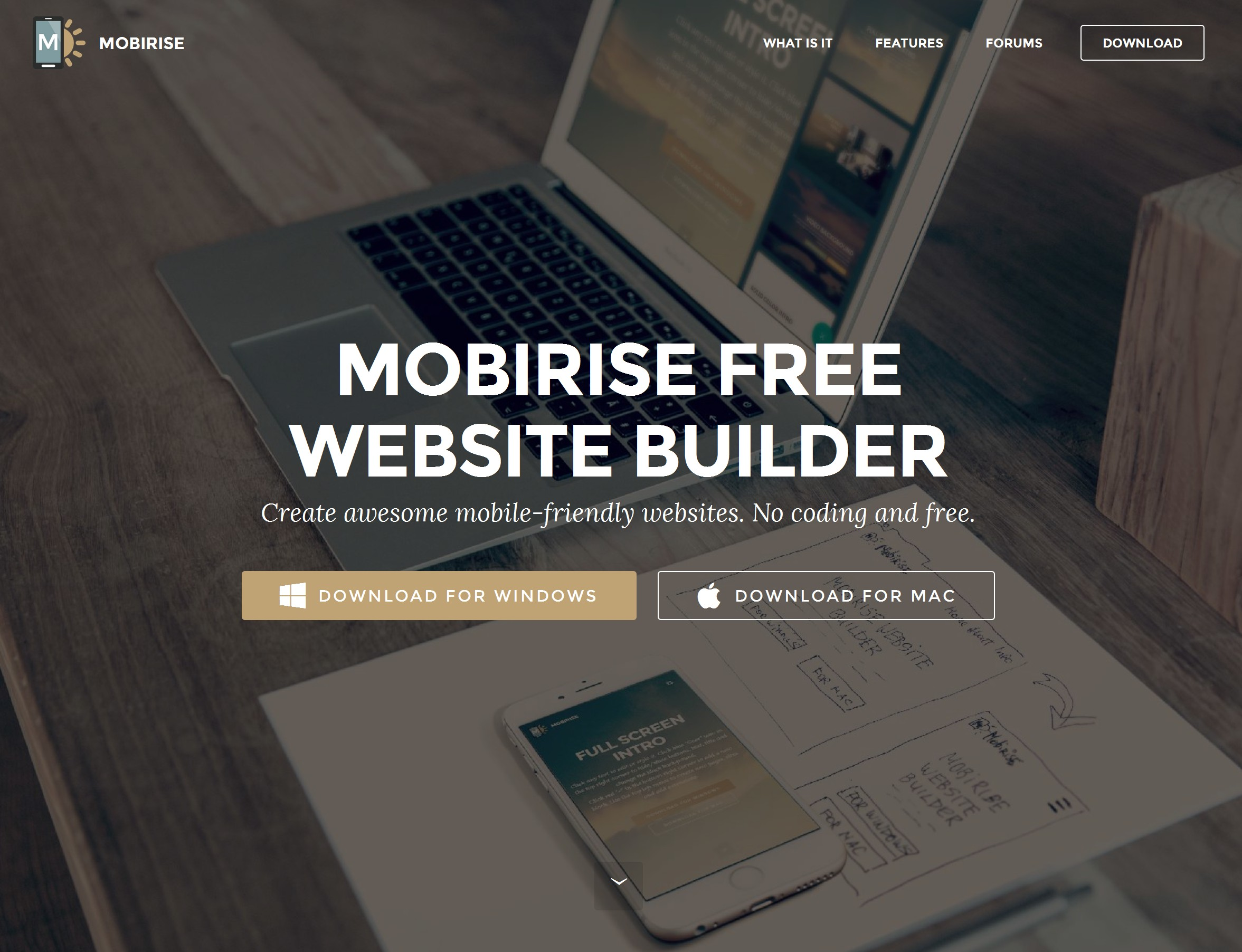 Offline Responsive Web Page Builder Review
