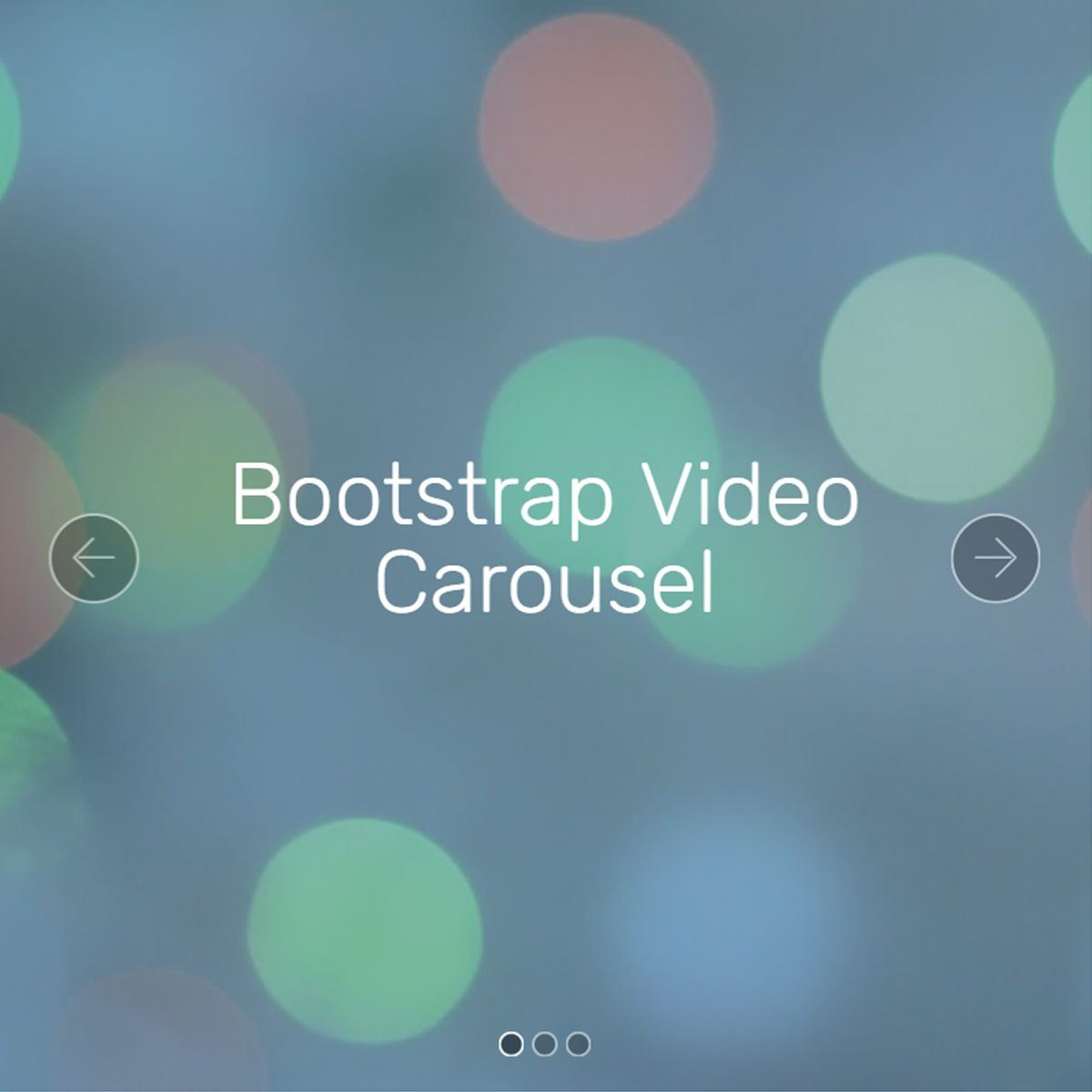 Free Bootstrap Illustration Carousel
